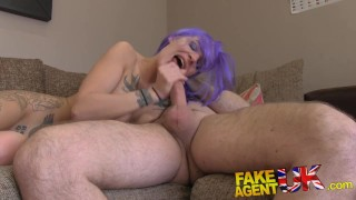 FakeAgentUK Anal play with smoking hot emo babe