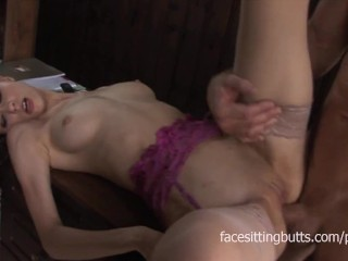 Beautiful and sexy Russian doll fucked hard in the ass