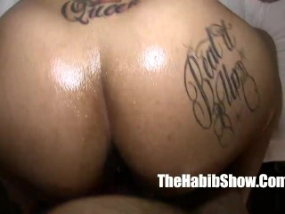 light skinned thick phat booty lovers fucking in the trap