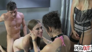 Preview 6 of Best Break Up Therapy EVER (STRAP-ON, GROUP SEX, HYPNO)