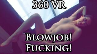 360 VR Blowjob& 他妈的