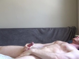Peeing And Cumming Hard On My Chest For Pauline