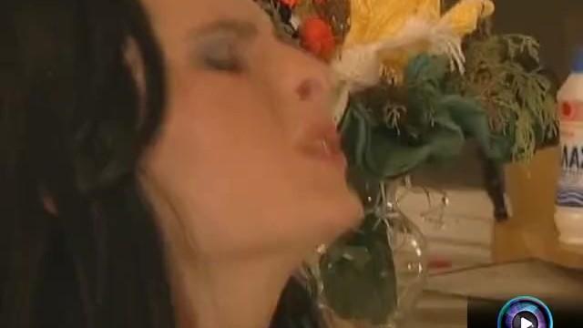 Stunning Gabriella Black doing raunchy sex with Garry 9