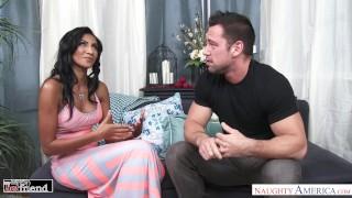 Spicy Latina Sadie Santana fucks her friend's husband - Naughty America