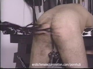 Pizza boy ends up as a slave in this dominatrix's dungeon