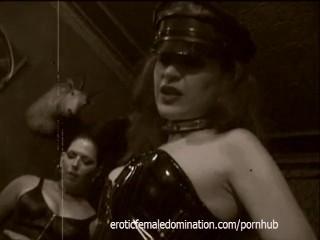 Behind the scenes footage of Felix's ordeals in the sex dungeon