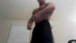 Muscle Foot STomp - JockMenLive.com