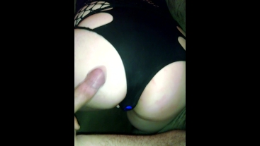 Spanking Ass With Hard Cock