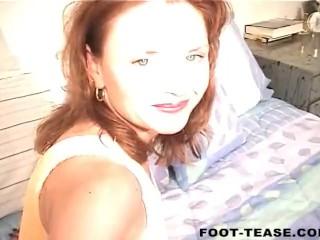 Janet Mason Jacks Her Husband Off Onto Her Feet