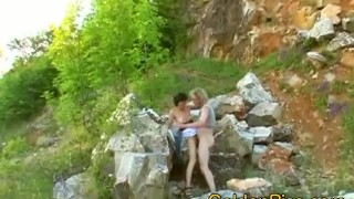 Amateur with couple natursekt pissing outdoor outdoor peeing