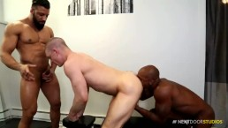 NextDoorEbony Cum On Gym Buddies