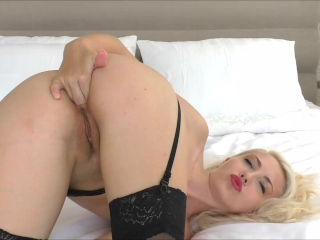 Preview 4 of Anal fingering Dildo fucking Helena Moeller