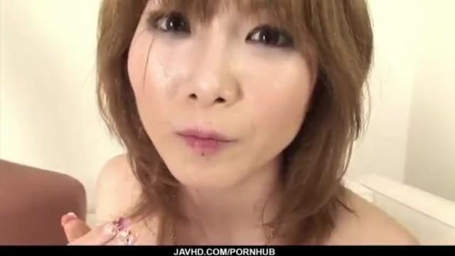Dashing porn scenes along cock sucking Rika Sakurai 47