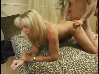 Mature Carol Fucks Her Young  Golden Boy
