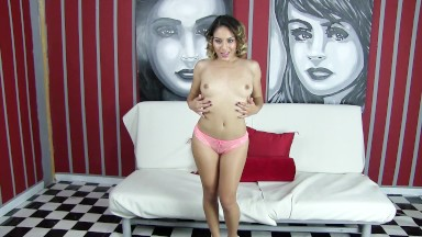 strip tease and behind the scenes footage with Jade Jantzen