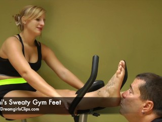 Jenni's Sweaty Gym Feet - www.clips4sale.com/8983/15800222
