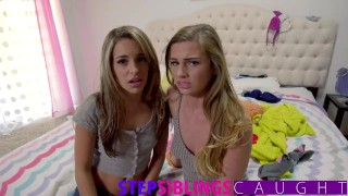 Step Brother and little Step sister share tiny teen in threesome  very young teen step siblings caught blowjob small tits pov teen creampie deepthroat threesome step brother step sister step sister caught exxxtra small tiny teen kimmy granger hard fast fuck sydney cole