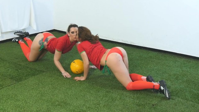 Two Portuguese Sluts Playing With a Strap-On 8