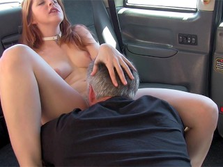 Fake Taxi Redhead Amarna bets on her cock-sucking skills