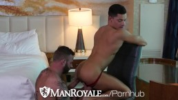 ManRoyale - Dirty Daddy Derek Parker Pounds Ethan Slade