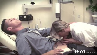 Erica fontes the blonde playing dentist tits big