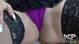 One White Fat Butt on Two BBC Cristine 3some