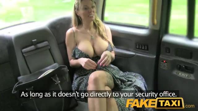Female Fake Taxi Big Ass