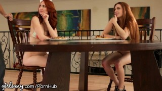 Hot and stepmom's squirting daughters comp compilation lesbians