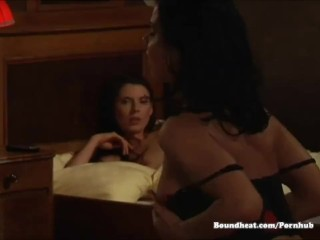 Preview 5 of Beautiful lesbian scene in a castle