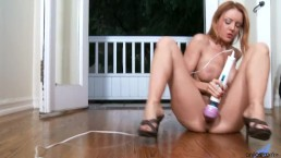 Janet Mason Using The Magic Wand To Get Off