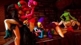 Shygal orgy