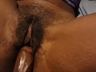 Watch her clit jump when she cums... and cums... and CUMS!