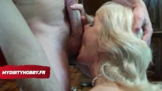 MYDIRTYHOBBY FRENCH - UNE MILF FRANCAISE FAIT UNE FELLATION porno