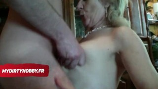 MYDIRTYHOBBY FRENCH - UNE MILF FRANCAISE FAIT UNE FELLATION Screwed mature