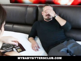 The Adult Video Experience Presents MyBabySittersClub – Needy Babysitter Offers Pussy For Cash