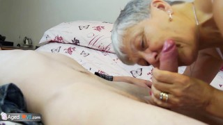 Old lady Savana fucked by student Sam Bourne by AgedLove Small european