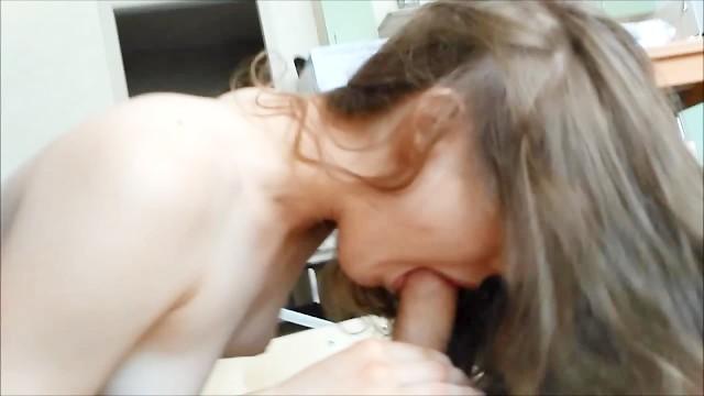 Russisch Amateur Teen Blowjob