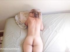 Nude body paint public