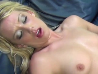Pretty Bartender Squirts for the First in Her Life!