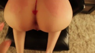 ANAL SLUT TRAINING - Ass to Mouth, Teen, Anal Creampie, POV