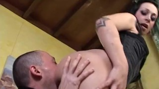 tattooed french gets deep anal fucked