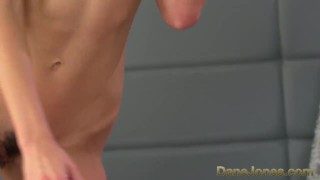 DaneJones Sexy blonde sucks and fucks before giving top handjob Tits petite