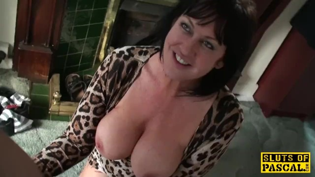Busty hardcore doggy with finger - Busty mature dominated with doggystyle