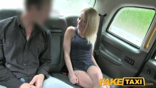 FakeTaxi Great ass and tight shaved pussy Brother sister
