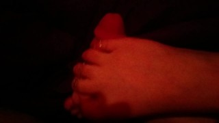 Preview 5 of Young french girl makes her first footjob video