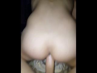 Husband breeding my ass