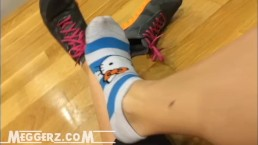 Hello Kitty Gym Socks