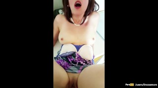 Step-mom force fucked and get creampie by step-son while she is stuck Hardcore young