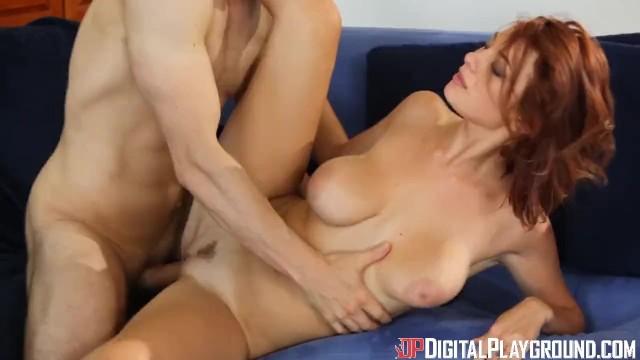 Digital Playground- Busty Redhead Enjoys Pussy Rubbing 6