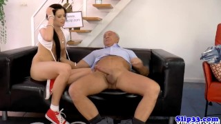 Preview 6 of Amateur eurobabe pleasures british geriatric